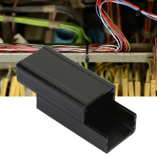 Black Enclosure Case Aluminum Box Circuit Board Project Electronic 5x25x50mm DIY