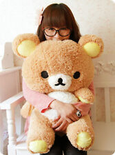 Plush Stuffed Kawaii San-x Rilakkuma Relax Bear Soft Pillow Toy Doll Gifts 55cm