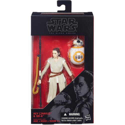 "Hasbro Star Wars Black Series REY /& BB-8 #02 6/"" Action Figure MIB"