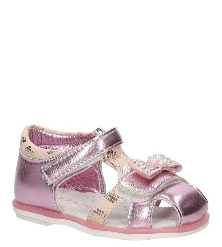 Filles Sandales Enfants Chaussures D/'été Chaussures Arc Velcro Taille 21-26 Soldes