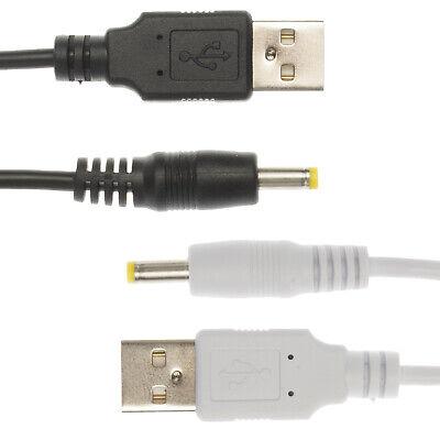 2m USB 5V Black Charger Power Cable Adaptor for Exposure Strada MK5 Bike Light
