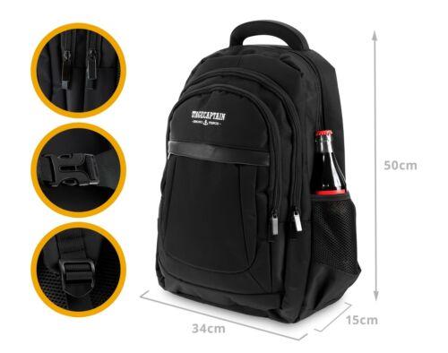 Universal Business Rucksack Laptop Tasche Backpack Flugzeug Aktentasche Travel