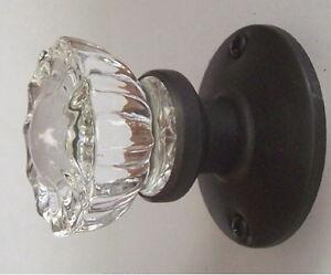 Image Is Loading Set Of 3 Fluted Crystal Gl Amp Oil
