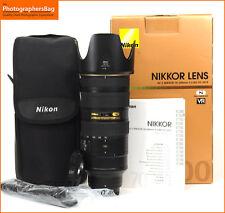 Nikon AF-S 70-200mm F2.8 G VR II ED AF ZOOM LENS GRATIS UK Affrancatura