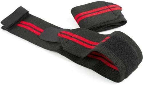 DEKO Wrist Strap Brace Power Weight Lifting Hand Wrap Support Gym Training Bar