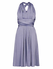 M&S COLLECTION Multiway Bodice Skater Bridesmaid Dress Size UK12/EUR40