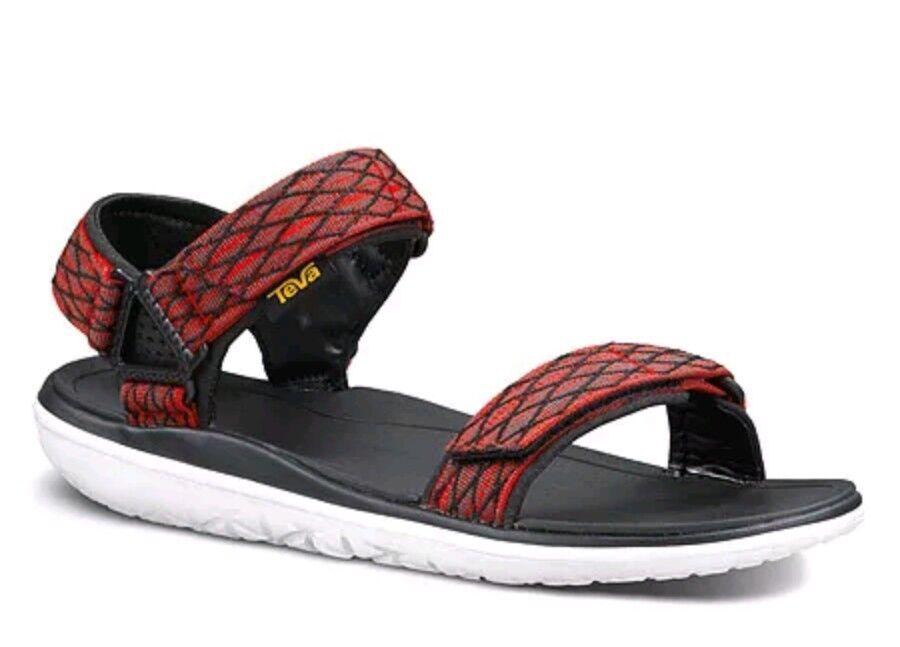 NEW TEVA Terra Float Universal 1009812 Men's 12 Red Waterproof Sport Sandals