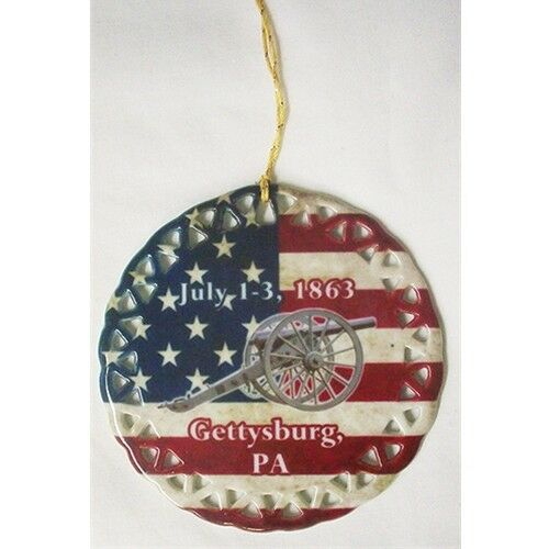 CHRISTMAS ORNAMENT CIVIL WAR GETTYSBURG PA COMMEMORATIVE ...