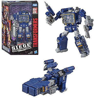 Transformers Siege Voyager Figure Soundwave IN STOCK