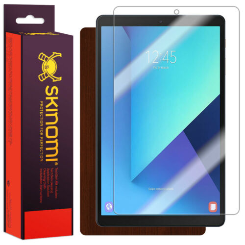 Skinomi Dark Wood Skin Cover for Samsung Galaxy Tab A 10.1 SM-T515, 2019