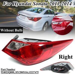 Pair Rear Outer Tail Brake Light Lamps For Hyundai Sonata 2011 2012 2013 2014