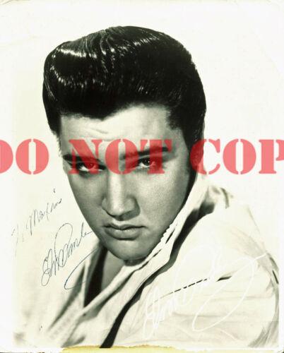 Elvis Presley Signed 8x10 Photo Autographed reprint