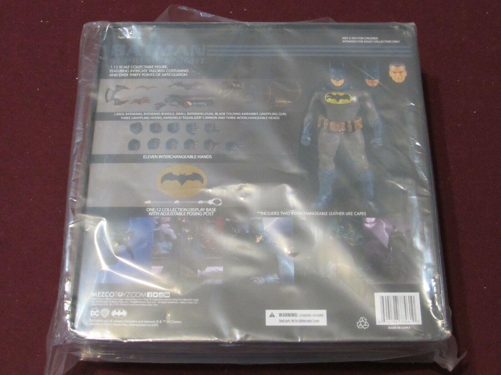 Mezco One-12 DC Batman Supreme Knight Action Figure ***NEW & SEALED*** on eBay thumbnail