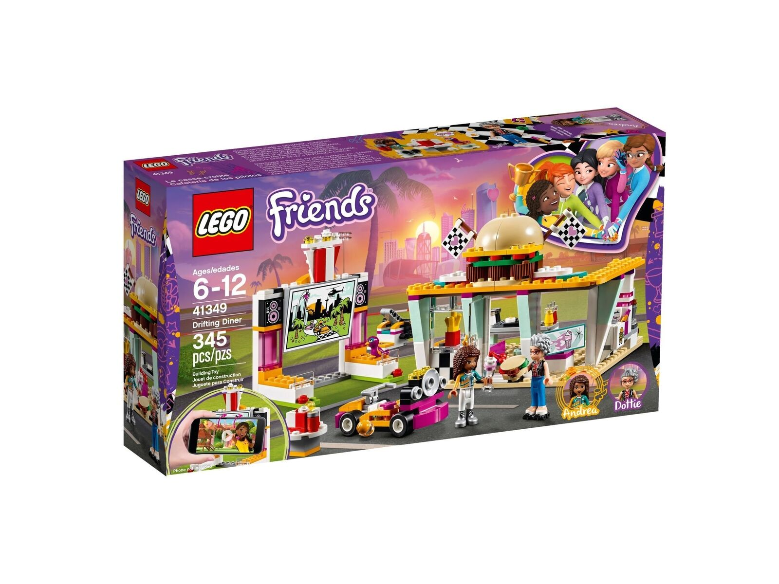 Lego Friends 41349 Burgerladen Neuf Emballage D'Origine Misb