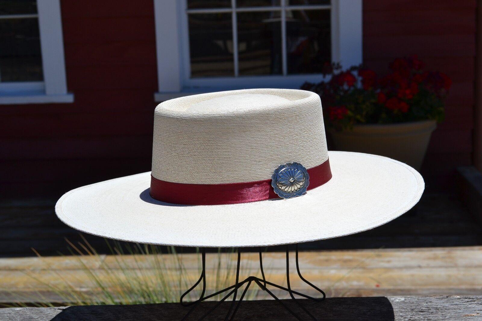 Atwood Hat Company - Rio Concho Nevada 15X Palm Vaquero Cowboy Hat - 4  Brim