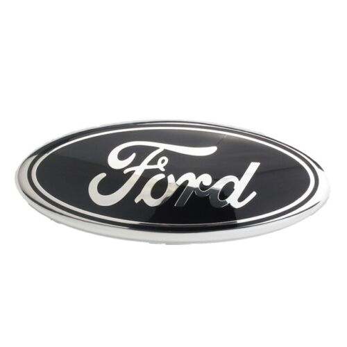 Color:Black:1Pcs 7/9 inch 2005-2014 Ford F150 F250 F350 Rear GRILLE/ TAILGATE Oval Emblem #5