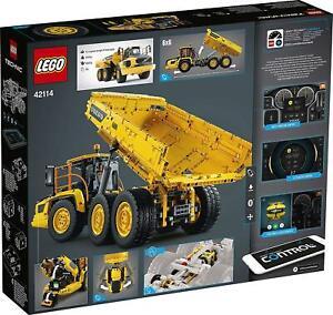 42114-LEGO-TECHNIC-6X6-VOLVO-CAMION-ARTICOLATO-AUTO-RIBALTABILE-RC-VOLVO-SE