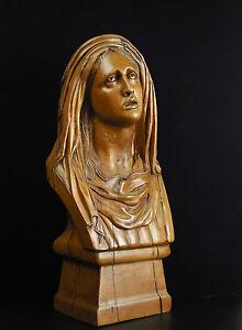 The Viegre Marie Sculpture Religious Art Religious Virgin Maria H:16 7/8in