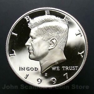 Coin 1997-S Kennedy Half Dollar Gem Proof Deep Cameo U.S