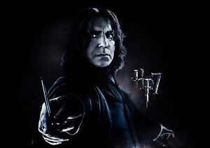 Details about HARRY POTTER SEVERUS SNAPE ALAN RICKMAN WALL ART POSTER (A1  -A5 SIZES AVAILABLE)