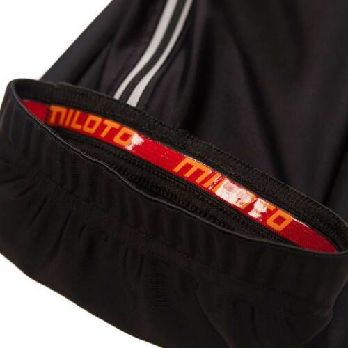 Unisex Cycling Leg Warmer Black Bicycle Knee Leg Cooler with Reflective Zipper