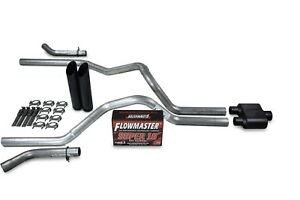 F150 98-04 dual exhaust 2.5 pipe Flowmaster Super 10