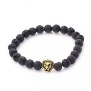 5X-New-Healing-Bead-Yoga-Bracelet-with-Golden-Lion-Head-Beads