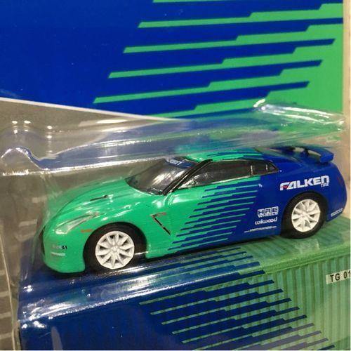 F S Limited 1 64 Tarmac Works NISSAN GT-R Falken couleur lumière verte collaboration