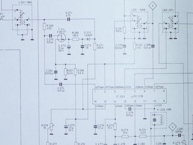 Circuit Diagram  Scheme Bang  U0026 Olufsen Beocord 900 Recorder