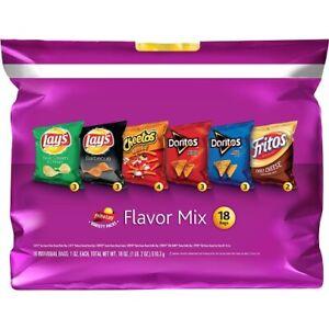 Frito Lay Variety Packs Flavor Mix