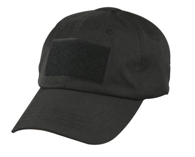 SECURITY Tactical Black Mesh Baseball Cap Hat Rothco