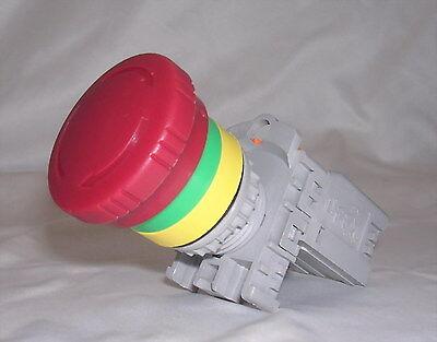 1pc Push Button Switch TBF-301 φ30 1A//1B 6A250VAC Color= Red No Lamp Tend
