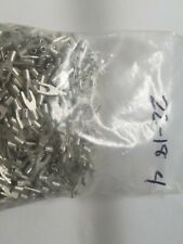 100 Spade Fork Terminal Connector Non Insulated Uninsulated 22 18 Awg Gauge 4