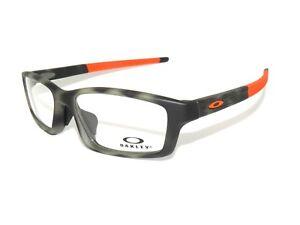 727a0a647a Oakley Frame A Crosslink Pitch 8041-14 56 Green Tortoise Eyeglasses ...