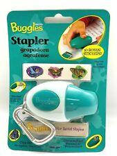 Stanley Bostitch Green Buggles Kids Stapler Carabiner Clip