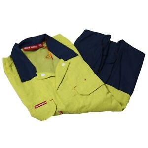 6a664135246e Image is loading HARD-YAKKA-Cotton-Drill-Coveralls-Y00304-FIRE-RETARDANT-