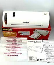 Scotch Thermal Laminator 2 Roller System Fast Warmsup 3 5 Min Laminating Machine