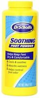 Dr. Scholl's Soothing Foot Powder, 7 Oz Each on sale