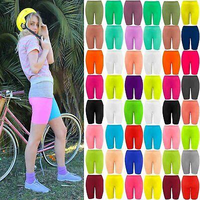 New Girls Kids Lycra Stretchy Dance Sports Biker Cycling Shorts School Hot Pants Bueno Para El Chupete AntipiréTico Y La Garganta