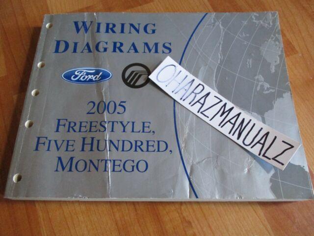2005 Ford Freestyle 500 Mercury Montego Wiring Diagrams