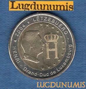 2-euro-Commemo-Luxembourg-2004-Grand-Duc-Henri-de-Luxembourg