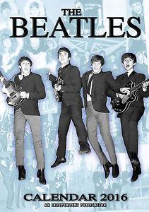 FAB-FOUR-2016-Calendar-by-Dream-not-official-Paul-John-George-Ringo-new