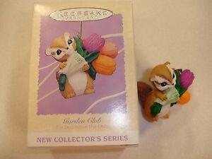 Garden-Club-Series-Hallmark-Keepsake-Ornament-Chipmunk-1995-1-of-4