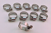 Ideal Box Of 10 Tridon Hose Clamps Size 06 / 8-22mm 5/16 - 7/8