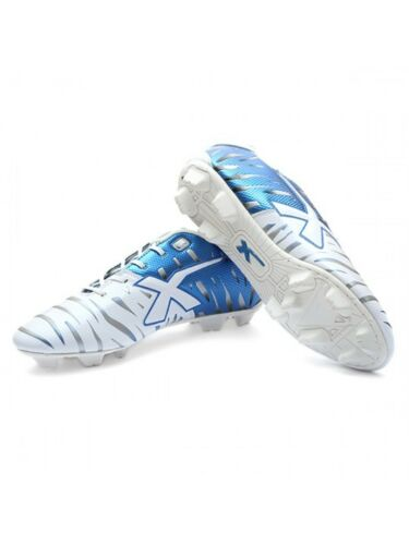 RRP $80 XBlades Young Wild Thing Animal Cyber Kids Football Boots BLUE