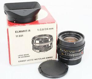 Leitz-Leica-Elmarit-R-24-mm-1-2-8-3cam-A-condition-BOX