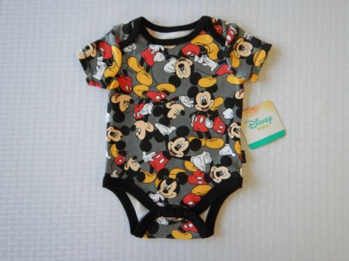 Disney Mickey Mouse Boys Girls Creeper Bodysuit