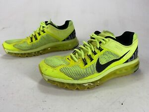 Mens-Primo-Distressed-Nike-Air-Max-2012-Volt-Neon-Shoes-Size-11-5-554886-701
