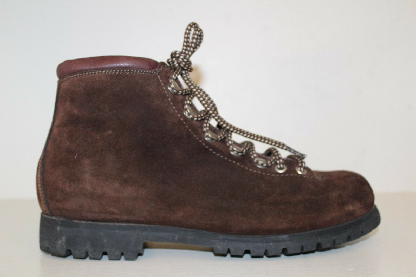 THE ALPS Fabiano Womens Boots Sz 9M Brown Suede Hiking Mountaineering