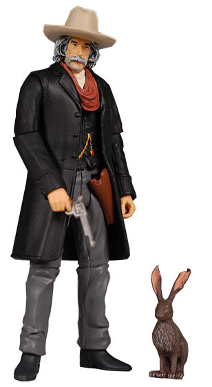 Golden Compass Lee Scoresby and Hester Action Figures PopCo New Line Cinema